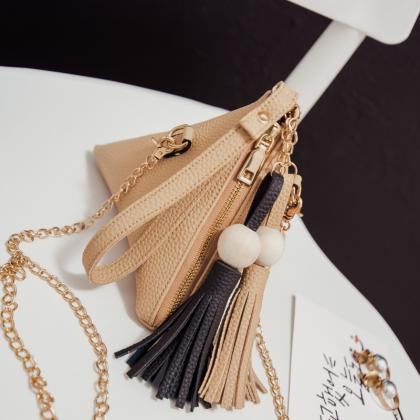 Small Purse Fringe Bag Ladies Walle..