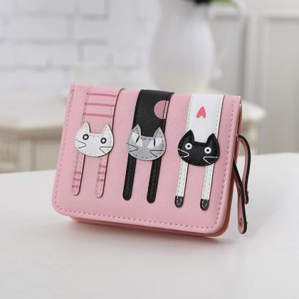 Lovely Small Zipper Coin Purse Fash..
