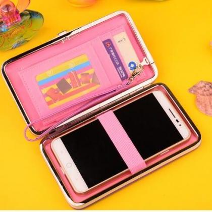 New Fashion Women Wallet Womens Clu..