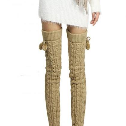 Women's Fashion Knit Crochet Winter..