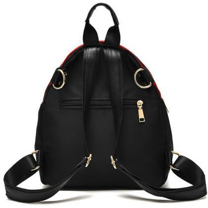Women Nylon Mini Backpack Shoulder ..