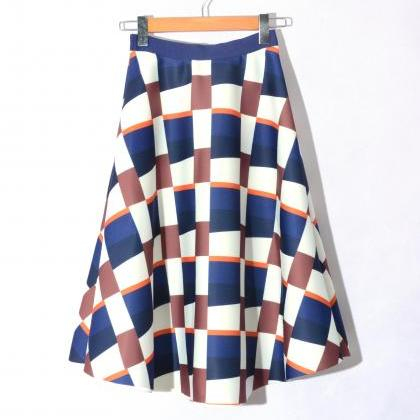 Fshion Lattice Pattern Space Cotton..
