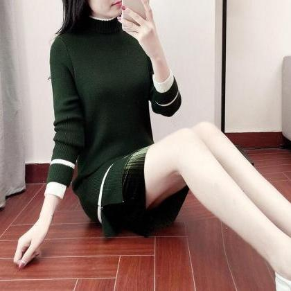 Women's Long Sleeve Knitted Casual ..