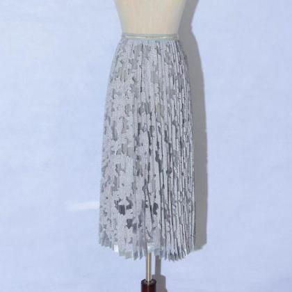 New Printing Women High Waist Skirt..