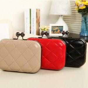 Candy-Color Evening Clutch Party Br..