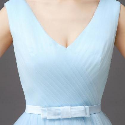 Women Fashion Vest Style Light Blue..