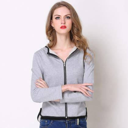 Women Autumn Spring Tops Long Sleev..