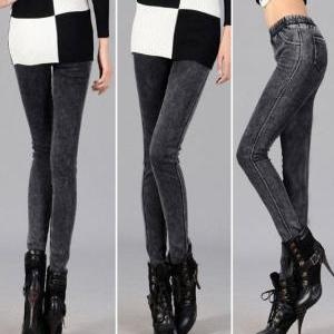 Warm Fashion Girl Thickening Leggin..