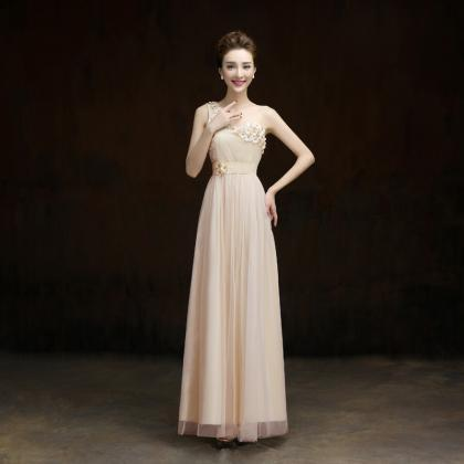 New One Shoulder Formal Long Design..