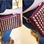 Multifunction Hot Rivet Clutch Bag/..