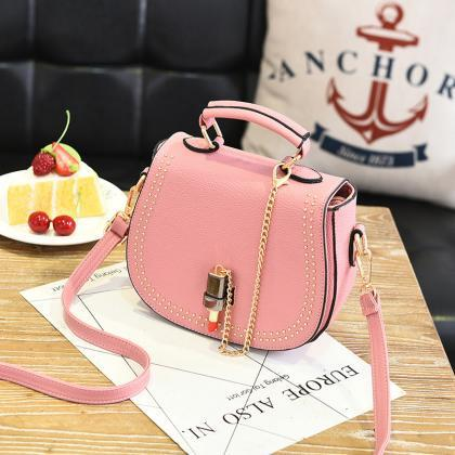 Small Flap Shoulder Bags Women Mess..