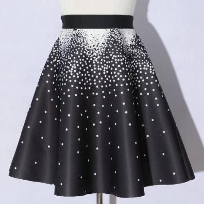 Elegant Printing Black Color Dot Pa..