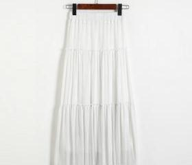 New Women Pleated A-..