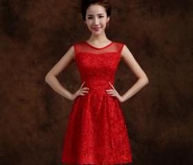 Red Elegant Solid La..