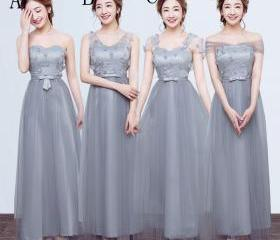 Fashion Long Bridesm..