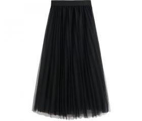 High Waist Pleated T..