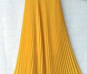 Chiffon Pleated Bohe..
