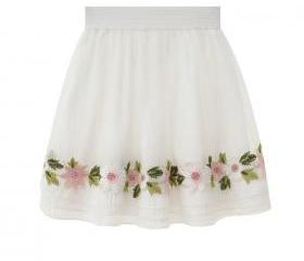 Floral Embroidered W..