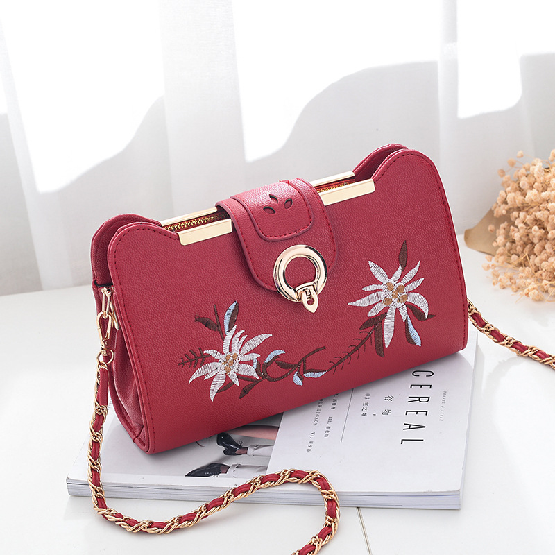 d047ef0a53e Women Bags Designer Fashion Sweet Women Evening Bag Party Purse Women  Clutch Tote Women Shoulder Messenger Bags - Red