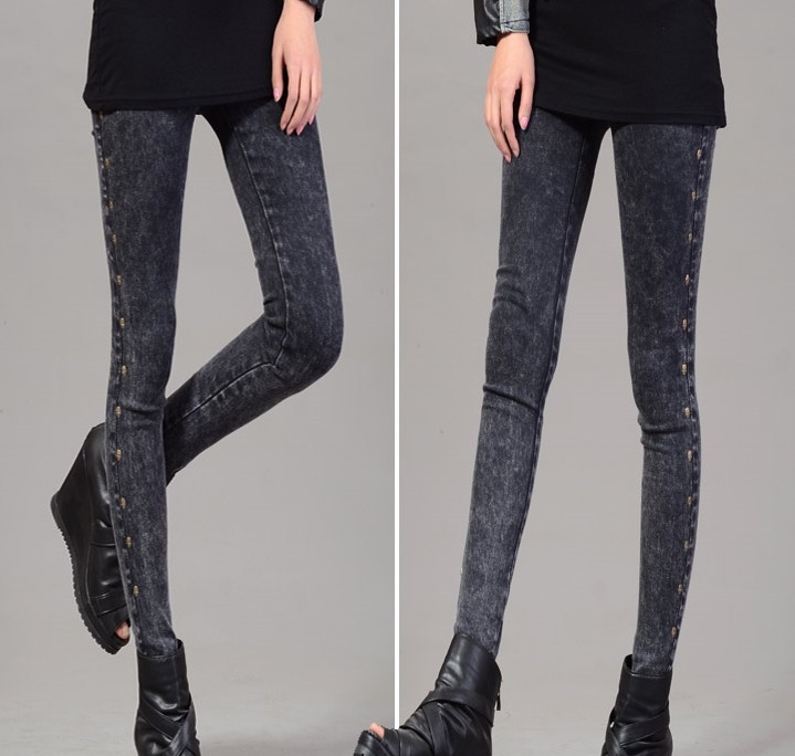 New Fashion Ghost Pattern Girl's Thickening Leggings