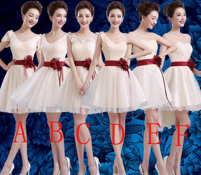 High Quality Fashion Evening Party Prom Dress Bridesmaid Wedding Dress