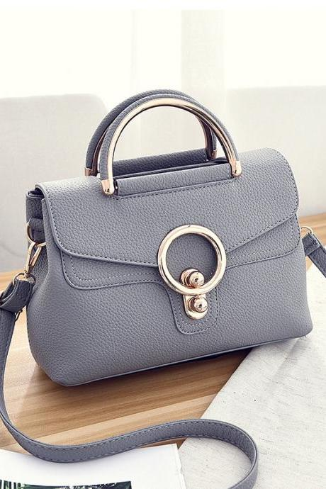 New Fashion Mini Women Bags Ladies Crossbody Shoulder Messenger Bags - Grey