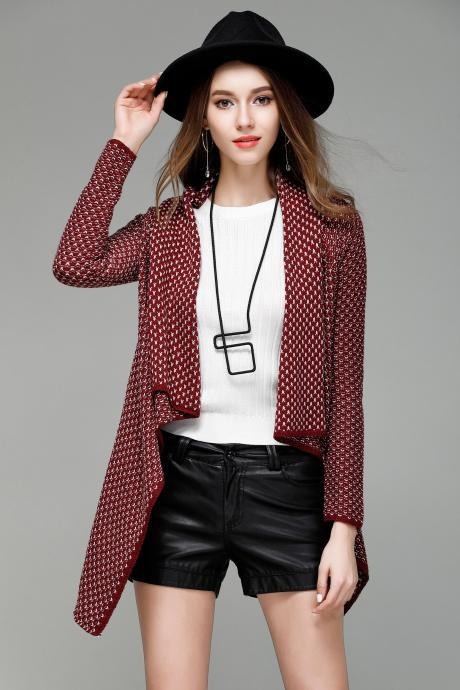 New Fashion Cardigan - Red