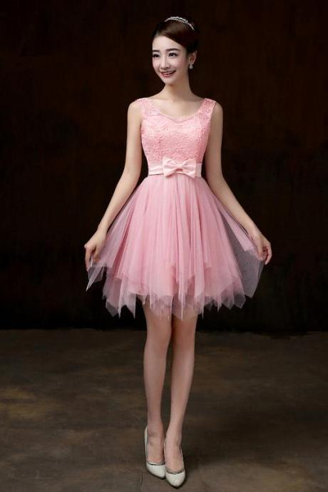 Sweet Women Fashion Short Dress Bridesmaid Prom Evening Mini Dress