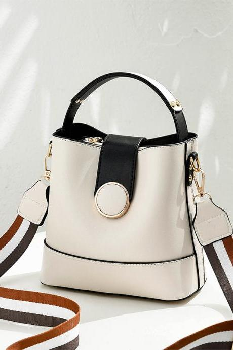 Sweet Women Mini Shoulder Bag Fahion Cross handbag - White