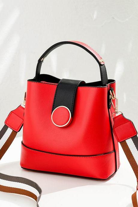 Sweet Women Mini Shoulder Bag Fahion Cross handbag - Red