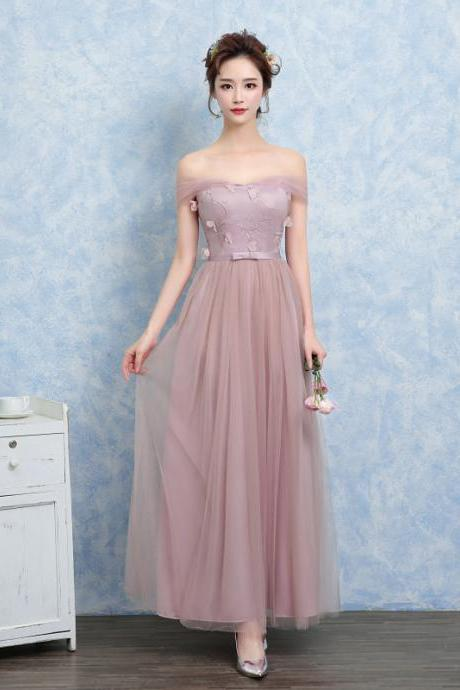 New Nice Fashion Women Evening Party Prom Bridesmaid Wedding Dress