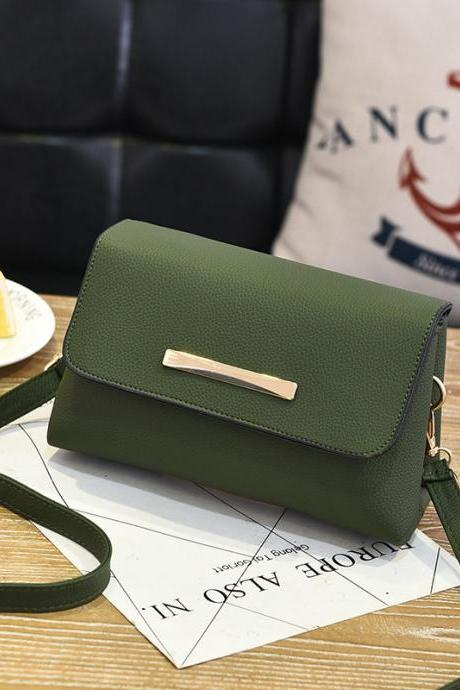 Fashion Women Mini Shoulder Bag Handbag Leather Cross Body Small Bags - Amy Green
