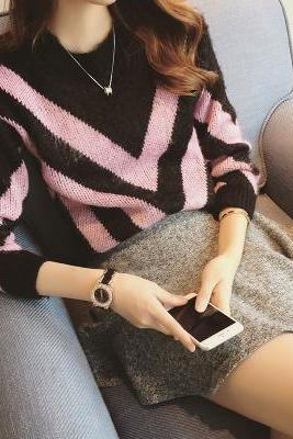 Autumn new fashion Pullover Sweater