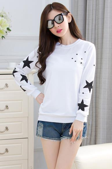 Cute Women loose Long Sleeve shirt Student shirt