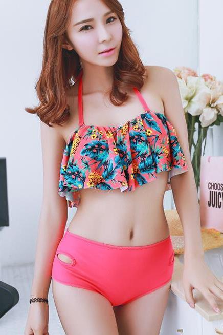 New Printing Women Swimsuit Swimwear Bikini