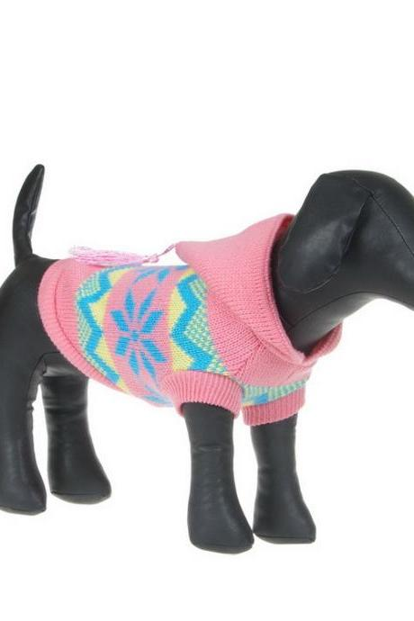 Snow Pattern Dog Clothes