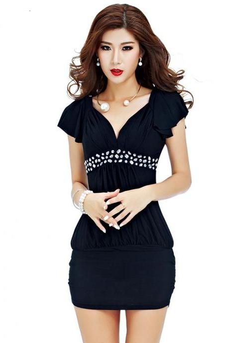 Women beautiful club lady dress Package Hip Dress