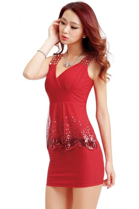 New Arrival Special Occasion Sexy Sequins Women Dresses
