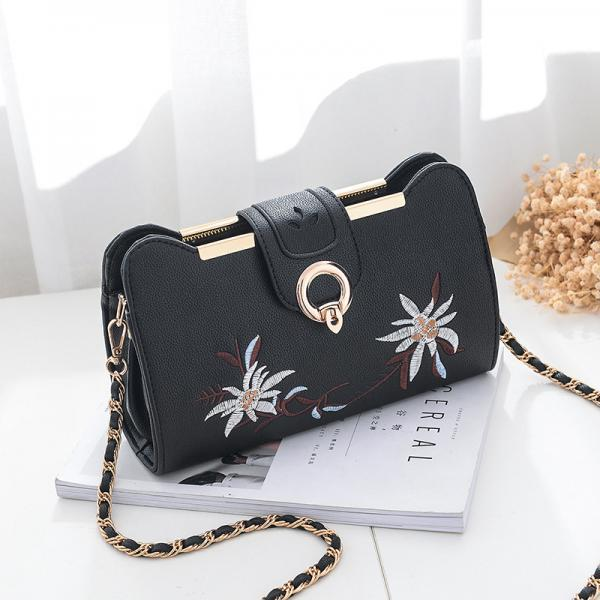 Women Bags Designer Fashion Sweet Women Evening Bag Party Purse Women Clutch Tote Women Shoulder Messenger Bags - Black