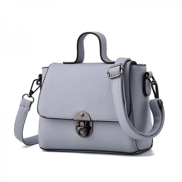 New Women Messenger Shoulder Mini Bag - Grey