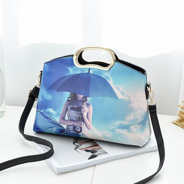 New Design Fashion Women Small Shoulder Bag Messenger Handbag - Blue