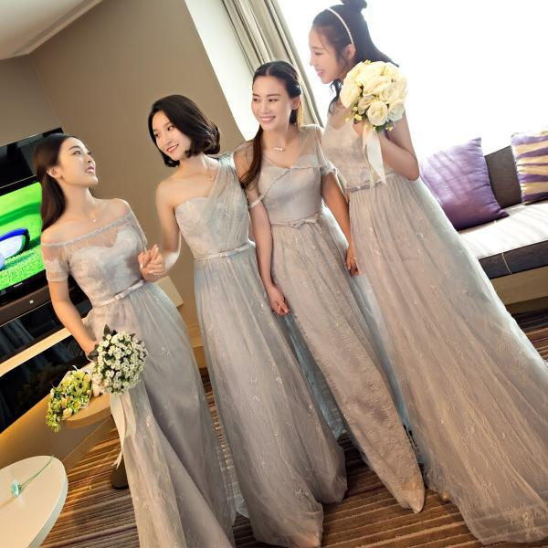 Lace Sexy Backless Long Evening Dresses Bride Banquet Elegant Floor-length Party Prom Dress
