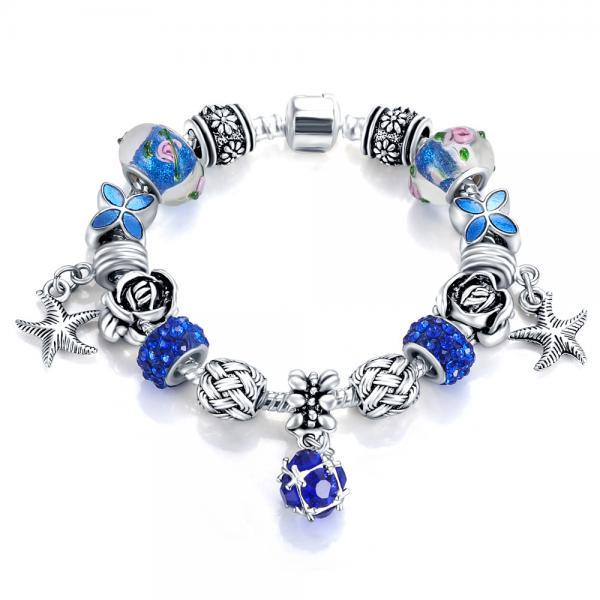 Fashion Crystal Charm Bracelet