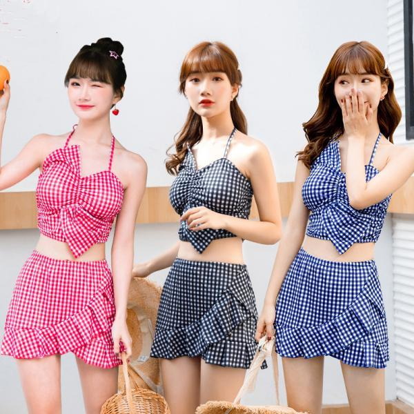 Sweet swimsuit thin students swimwear swimming suit