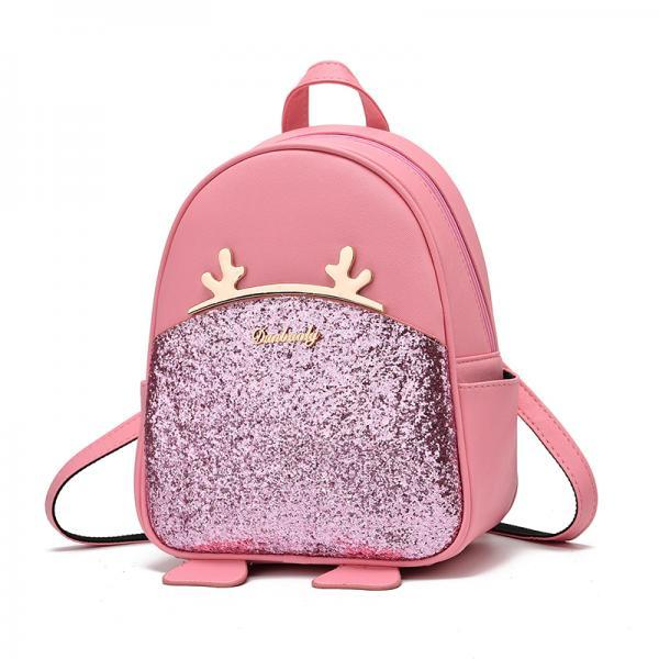 Sequel School Backpacks Women Bag Women Backpack Lovely Girls School Bags Ladies Bag - Pink