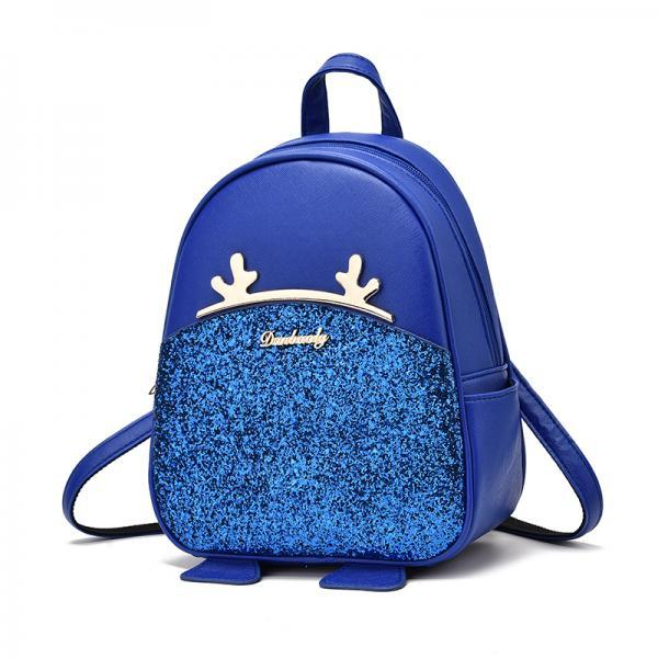 Sequel School Backpacks Women Bag Women Backpack Lovely Girls School Bags Ladies Bag - Blue