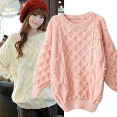 Cute Women winter long sleeved sweater Student Sweater