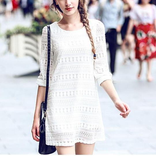 New Women Casual Lace Dress