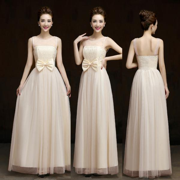 Summer style New 2016 fashion formal long design elegant gown evening dress - Beige